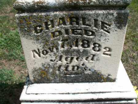 UNKNOWN, CHARLIE - Montgomery County, Kansas | CHARLIE UNKNOWN - Kansas Gravestone Photos