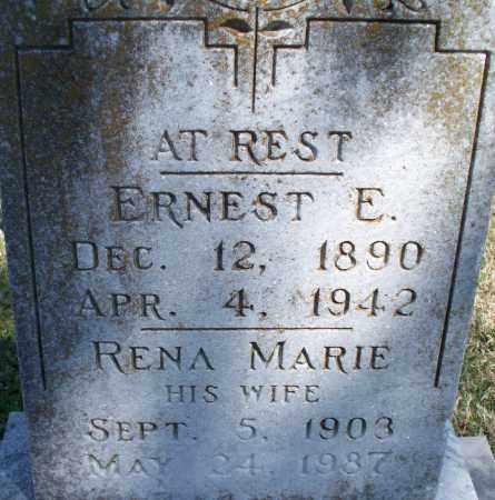 UNKNOWN, RENA MARIE - Montgomery County, Kansas | RENA MARIE UNKNOWN - Kansas Gravestone Photos