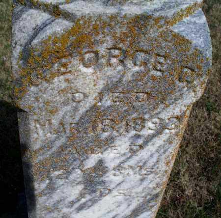 UNKNOWN, GEORGE G - Montgomery County, Kansas | GEORGE G UNKNOWN - Kansas Gravestone Photos