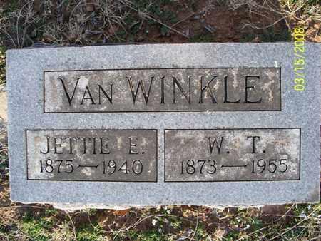 VAN WINKLE, W  T  - Montgomery County, Kansas | W  T  VAN WINKLE - Kansas Gravestone Photos
