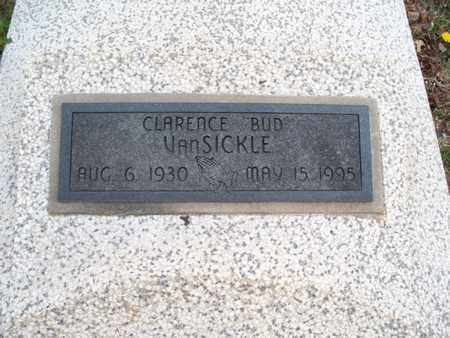 """VANSICKLE, CLARENCE """"BUD"""" - Montgomery County, Kansas 