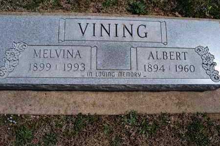 VINING, MELVINA - Montgomery County, Kansas   MELVINA VINING - Kansas Gravestone Photos