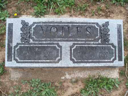 VOILES, INEZ L - Montgomery County, Kansas | INEZ L VOILES - Kansas Gravestone Photos