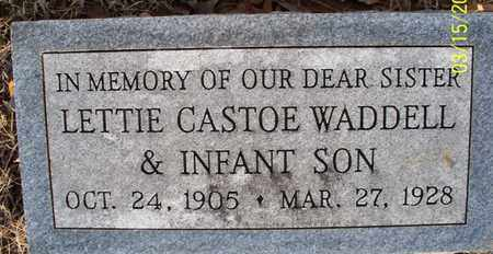 WADDELL, INFANT SON - Montgomery County, Kansas | INFANT SON WADDELL - Kansas Gravestone Photos