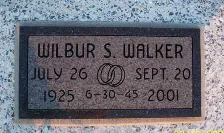 WALKER, WILBUR S - Montgomery County, Kansas   WILBUR S WALKER - Kansas Gravestone Photos