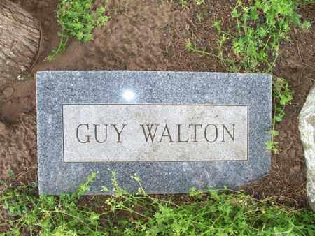 WALTON, GUY - Montgomery County, Kansas | GUY WALTON - Kansas Gravestone Photos