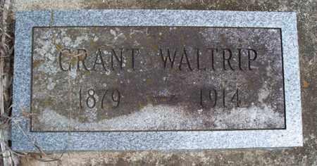 WALTRIP, GRANT - Montgomery County, Kansas | GRANT WALTRIP - Kansas Gravestone Photos