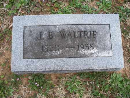 WALTRIP, J B - Montgomery County, Kansas | J B WALTRIP - Kansas Gravestone Photos