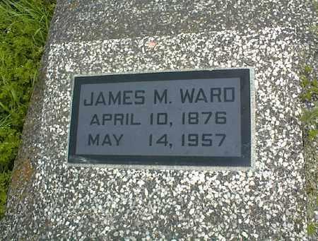 WARD, JAMES M - Montgomery County, Kansas   JAMES M WARD - Kansas Gravestone Photos
