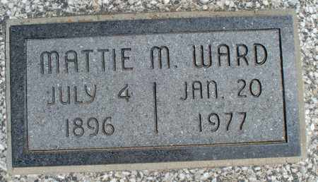 WARD, MATTIE M - Montgomery County, Kansas | MATTIE M WARD - Kansas Gravestone Photos