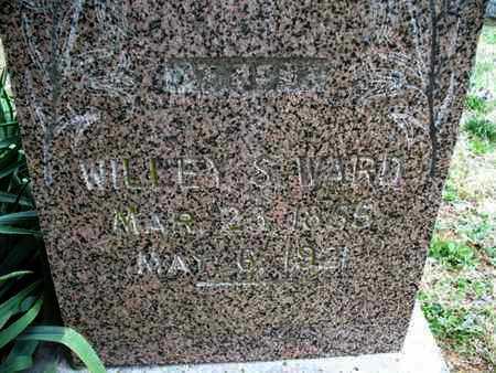 WARD, WILLEY S - Montgomery County, Kansas | WILLEY S WARD - Kansas Gravestone Photos