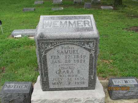 WEMMER, SAMUEL - Montgomery County, Kansas | SAMUEL WEMMER - Kansas Gravestone Photos