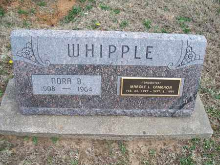 WHIPPLE CAMERON, MARGIE I - Montgomery County, Kansas | MARGIE I WHIPPLE CAMERON - Kansas Gravestone Photos