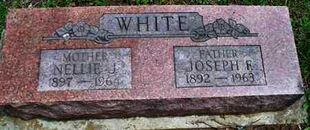 WHITE, NELLIE J - Montgomery County, Kansas | NELLIE J WHITE - Kansas Gravestone Photos