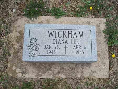 WICKHAM, DIANA LEE - Montgomery County, Kansas   DIANA LEE WICKHAM - Kansas Gravestone Photos