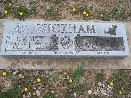 "WICKHAM, L W ""BILL"" - Montgomery County, Kansas 