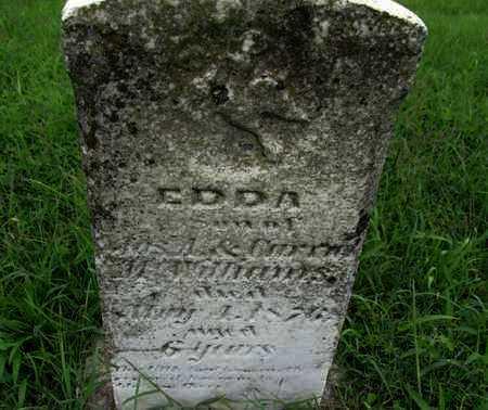 WILLIAMS, EDDA - Montgomery County, Kansas | EDDA WILLIAMS - Kansas Gravestone Photos