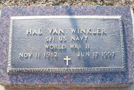 WINKLER, HAL VAN   (VETERAN WWII) - Montgomery County, Kansas | HAL VAN   (VETERAN WWII) WINKLER - Kansas Gravestone Photos