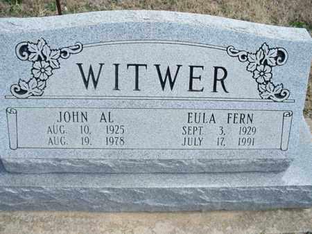 WITWER, JOHN AL - Montgomery County, Kansas | JOHN AL WITWER - Kansas Gravestone Photos