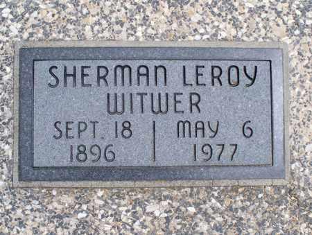 WITWER, SHERMAN LEROY - Montgomery County, Kansas | SHERMAN LEROY WITWER - Kansas Gravestone Photos