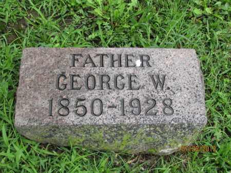 WOODS, GEORGE W - Montgomery County, Kansas | GEORGE W WOODS - Kansas Gravestone Photos