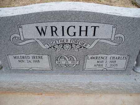 WILSON WRIGHT, MILDRED IRENE - Montgomery County, Kansas | MILDRED IRENE WILSON WRIGHT - Kansas Gravestone Photos