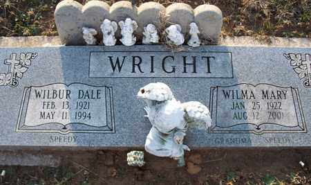 WRIGHT, WILBUR DALE - Montgomery County, Kansas | WILBUR DALE WRIGHT - Kansas Gravestone Photos
