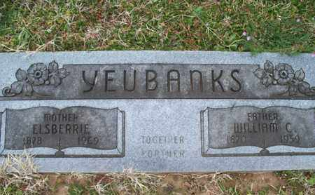 YEUBANKS, ELSBERRIE - Montgomery County, Kansas   ELSBERRIE YEUBANKS - Kansas Gravestone Photos