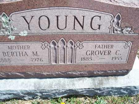 YOUNG, BERTHA M - Montgomery County, Kansas | BERTHA M YOUNG - Kansas Gravestone Photos