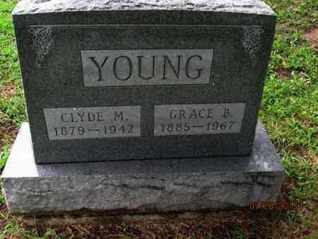 YOUNG, CLYDE M, JR - Montgomery County, Kansas | CLYDE M, JR YOUNG - Kansas Gravestone Photos
