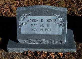 DOYLE, AARON D - Morton County, Kansas   AARON D DOYLE - Kansas Gravestone Photos