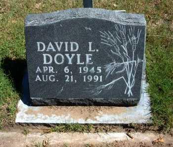DOYLE, DAVID L - Morton County, Kansas | DAVID L DOYLE - Kansas Gravestone Photos
