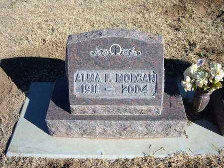 MORGAN, ALMA F - Morton County, Kansas | ALMA F MORGAN - Kansas Gravestone Photos