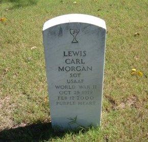 MORGAN, LEWIS CARL   (VETERAN WWII) - Morton County, Kansas   LEWIS CARL   (VETERAN WWII) MORGAN - Kansas Gravestone Photos