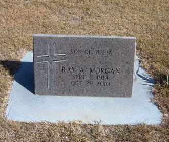 MORGAN, RAY A - Morton County, Kansas   RAY A MORGAN - Kansas Gravestone Photos