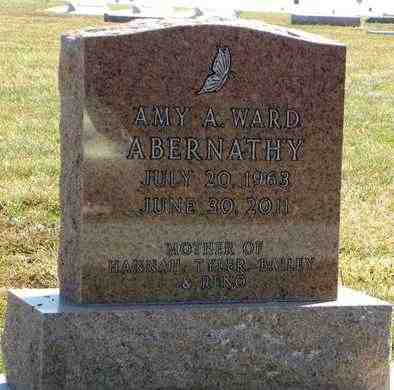 WARD ABERNATHY, AMY ANNETTE - Nemaha County, Kansas | AMY ANNETTE WARD ABERNATHY - Kansas Gravestone Photos