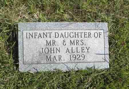 ALLEY, INFANT DAUGHTER - Nemaha County, Kansas   INFANT DAUGHTER ALLEY - Kansas Gravestone Photos