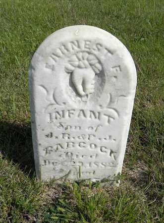 BABCOCK, ERNEST F - Nemaha County, Kansas | ERNEST F BABCOCK - Kansas Gravestone Photos