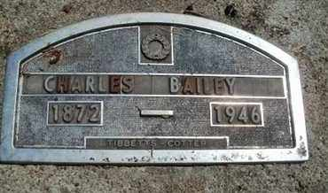 BAILEY, CHARLES - Nemaha County, Kansas   CHARLES BAILEY - Kansas Gravestone Photos