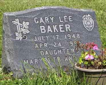 BAKER, GARY LEE - Nemaha County, Kansas | GARY LEE BAKER - Kansas Gravestone Photos