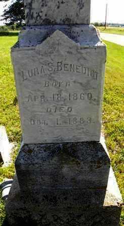 BENEDICT, LURA S / LAURA S - Nemaha County, Kansas | LURA S / LAURA S BENEDICT - Kansas Gravestone Photos