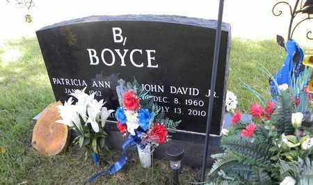 BOYCE, JOHN DAVID, JR - Nemaha County, Kansas   JOHN DAVID, JR BOYCE - Kansas Gravestone Photos