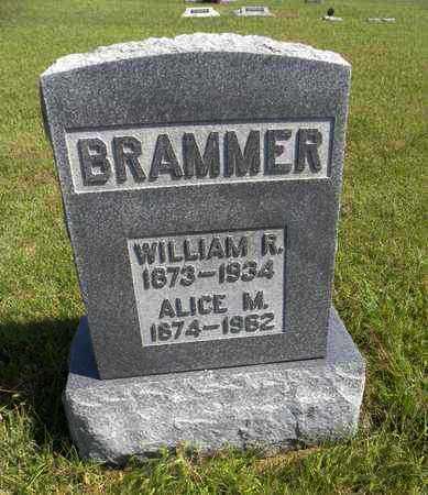MCROBERTS BRAMMER, ALICE M - Nemaha County, Kansas | ALICE M MCROBERTS BRAMMER - Kansas Gravestone Photos