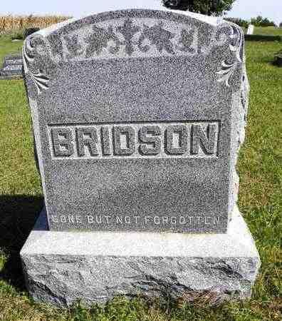 BRIDSON, FAMILY STONE - Nemaha County, Kansas | FAMILY STONE BRIDSON - Kansas Gravestone Photos