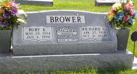BROWER, RUBY K - Nemaha County, Kansas | RUBY K BROWER - Kansas Gravestone Photos