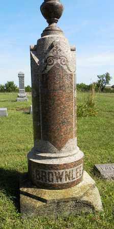 BROWNLEE, FAMILY STONE - Nemaha County, Kansas | FAMILY STONE BROWNLEE - Kansas Gravestone Photos