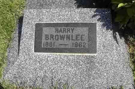 BROWNLEE, HARRY - Nemaha County, Kansas | HARRY BROWNLEE - Kansas Gravestone Photos