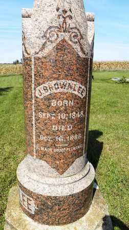 BROWNLEE, JEFFERSON - Nemaha County, Kansas | JEFFERSON BROWNLEE - Kansas Gravestone Photos