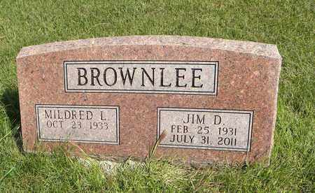 BROWNLEE, JIM D - Nemaha County, Kansas   JIM D BROWNLEE - Kansas Gravestone Photos