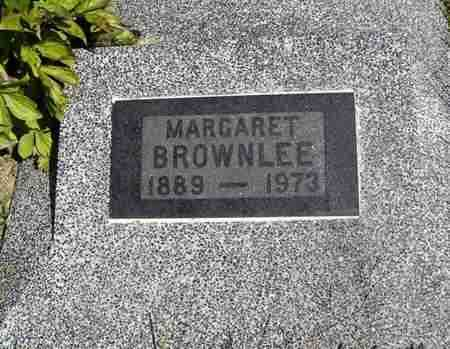 BROWNLEE, MARGARET - Nemaha County, Kansas   MARGARET BROWNLEE - Kansas Gravestone Photos
